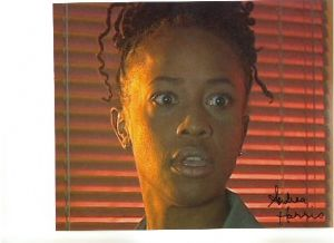 "Signed 10 x 8 Photograph of Andrea Harris ""Suzanne"" from ""Stolen Earth"""